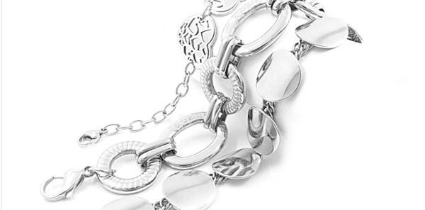 A női karkötők és férfi ezüst karkötők akár egyedi méretekben is elérhetők c0aed5a421